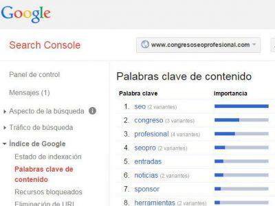 #3065 - Search Console - Palabras clave de contenido - http___www_congresoseoprofesional_com_ - www_google_com_webmasters_tools_keywords_hl=es&siteUrl=www_congr